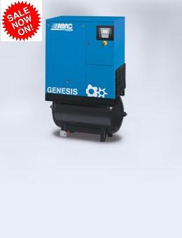 5.5-22kw Genesis 3 in 1 Rotary Screw Air Compressor