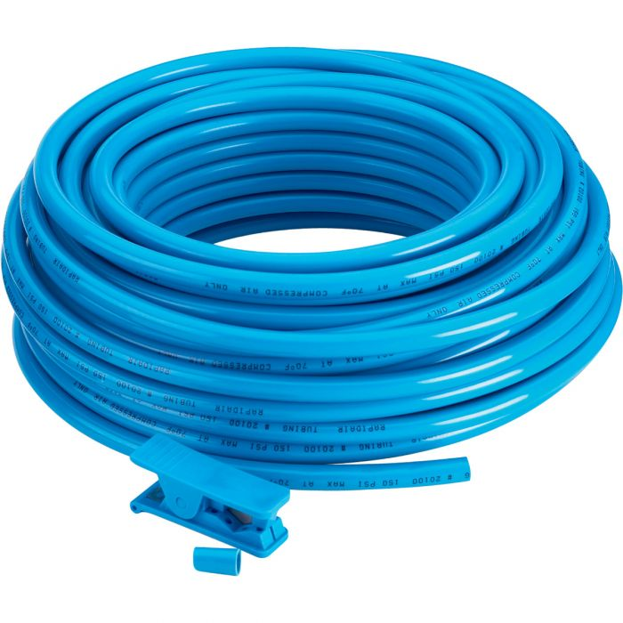 "meite JPUB25-25FT Blue 300 PSI Polyurethane Air Hose 1//4/"" x 25/'"