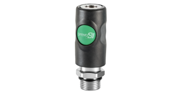 """Prevost S1 One Push 1/4"""" bspp Male Multi-fit Euro Coupling"""