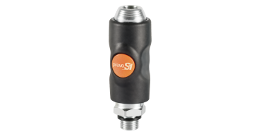 Prevost S1 One Push 1/2BSPP Male PCL Coupling