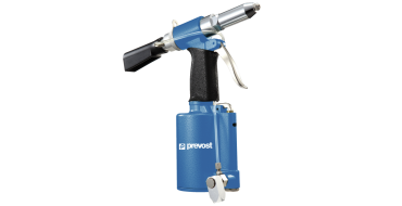 Prevost Hydro-Pneumatic riveter with Suction System 2.4 - 6.4mm
