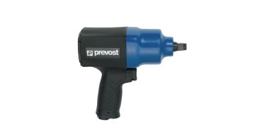 Prevost 1/2 Drive Composite Air Impact Wrench - Reinforced Twin Hammer