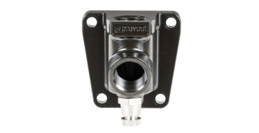 Prevost 1/2 bsp in1/2 bsp out Female Single Wall Bracket and Drain