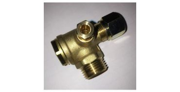 "1/2"" Male x 10mm Tube Non-Return Valve"