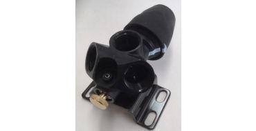 AIRnet 20mm x 1/2 bsp Wallmounted Triple Outlet Manifold