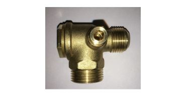 "1"" Male x 1"" Flared Male Outlet Non-Return Valve (1/4"" side port)"