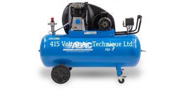 15 cfm Abac PRO A49B 200L CT3 *3 Phase 415 Volt