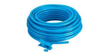 PU Tubing 8mm x 5.5mm Blue 25 Mtr Coil