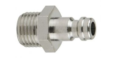1/4 Male Miniature Coupling Adaptor