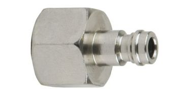 1/8 Female Miniature Coupling Adaptor