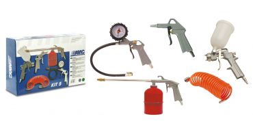 ABAC 5 Piece Air Tool Kit