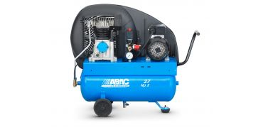 9cfm Abac PRO A29B 27L CM2 * Single phase run off a 13 Amp supply