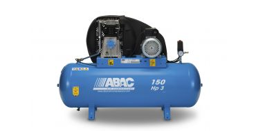 14cfm Abac PRO A39B 150L FM3 * Single phase run off a 16 Amp supply