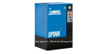 Abac Spinn 3kw 11cfm @ 10 Bar Floor Mounted 415 Volt C40 Compressor