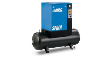 Abac Spinn 2.2kw 8.5cfm @ 10 Bar Tank Mounted 240 Volt 200L C40 Compressor
