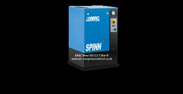 Abac Spinn 2.2kw 10.3cfm @ 10 Bar Floor Mounted 415 Volt C43 Compressor