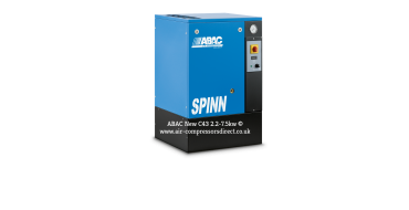 Abac Spinn 3kw 12.9 cfm @ 10 Bar Floor Mounted 415 Volt C43 Compressor