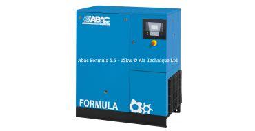 Abac Formula 15kw 74cfm @ 10 Bar Compressor Floor Mounted C67