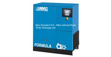 Abac Formula 15kw 82cfm @ 8 Bar Compressor Floor Mounted C67