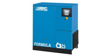 Abac Formula E 15kw 82cfm @ 8 Bar Dryer Built-In Compressor Floor Mounted C67