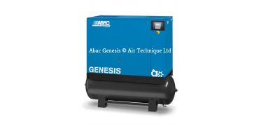 Abac Genesis 18.5/13 i 500 C67 Variable Speed Compressor with Dryer-Tank