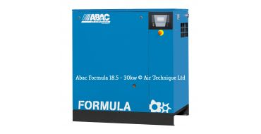 Abac Formula 22kw 128cfm @ 8 Bar Compressor Floor Mounted C67