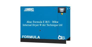 Abac Formula E 22kw 114cfm @ 10 Bar Dryer Built-In Compressor Floor Mounted C67