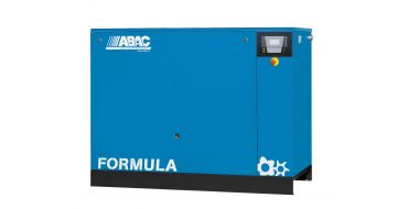 Abac Formula E 22kw 114cfm @ 10 Bar Dryer Built-In Compressor Floor Mounted C67