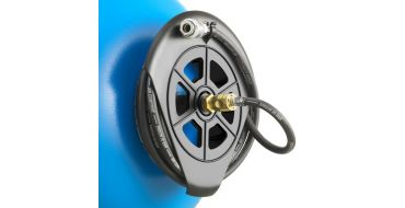 ABAC Hose reel + 10 mtr hose with snap coupling