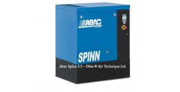 Abac Spinn X 5.5kw 25cfm @ 10 Bar Floor Mounted C55* Compressor