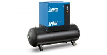 Abac Spinn 15kw 59cfm 2 10 Bar Tank Mounted 270L C55* Compressor