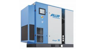 Alup Allegro 30 + Dryer Variable Speed 197 cfm @ 7 bar 30Kw