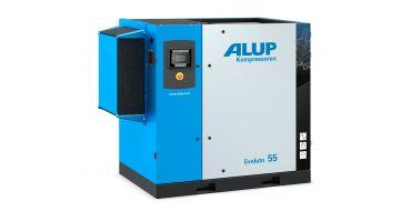 Alup Evoluto 55 Permanent Magnet Variable Speed 390 cfm @ 7 bar 55Kw