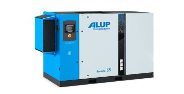 Alup Evoluto 55 + Dryer Permanent Magnet Variable Speed 390 cfm @ 7 bar 55Kw