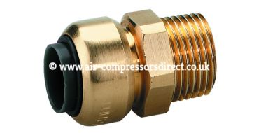 Airnet 22mm x 3/4 Male Thread