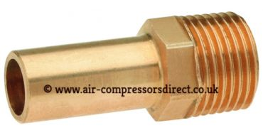 Airnet 15mm Stem x 1/2 Male Thread