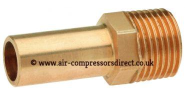 Airnet 22mm Stem x 1/2 Male Thread