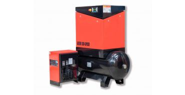 Airwave Eco-Speed 5.5kw 25 cfm @ 10 Bar 300L Tank Mounted + Dryer + Free Options