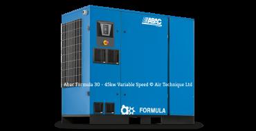 ABAC Formula MI Variable Speed 37kw 7-10 bar