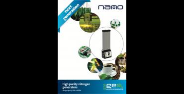 Nano Eco Gen Nitrogen Generator 95 - 99.9% Nitrogen Purity 1.4 - 15.5 Nm3/h