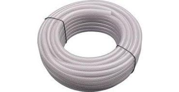 "3/8""-10mm id  PVC Reinforced Braided Hose 30mtrs"