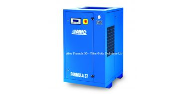 Abac Formula 75kw 325cfm @ 13 Bar Rotary Screw Compressor Fixed Speed