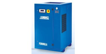 Abac Formula 55kw 321cfm @ 8 Bar Rotary Screw Compressor Fixed Speed