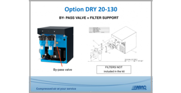 Dryer By-Pass & Filter Support  DRY 20-130 1/2""