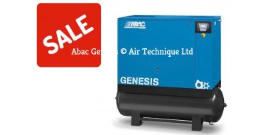 Abac Genesis 22kw 128cfm @ 8 Bar 500L C67 Compressor