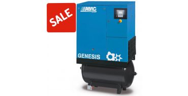 SALE Abac Genesis 11kw 53cfm @ 10 Bar 270L C55* Compressor Special Offer