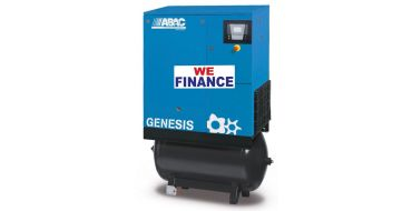 Abac Genesis 11kw 8-10 Bar 270L C55* Compressor Finance Offer Example
