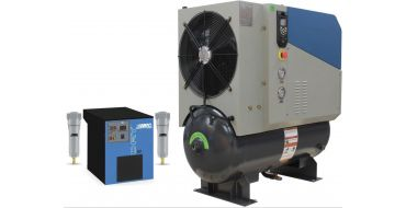 SCR 15PM2 + Dryer 10 bar 52 cfm Permanent Magnet variable Speed 11kw Rotary screw Air Compressor