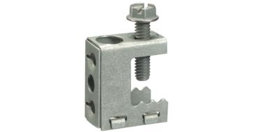 Prevost Screw Beam Clamp M6mm Hole for studding 0 - 16mm Beam Thickness