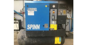 Reconditioned Abac Spinn E 7.5kw 10 Bar 270lt Tank+Dryer 415 Volt